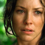 Evangeline Lilly over Ant-Man