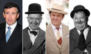 Steve Coogan en John C. Reilly als Laurel & Hardy in biopic
