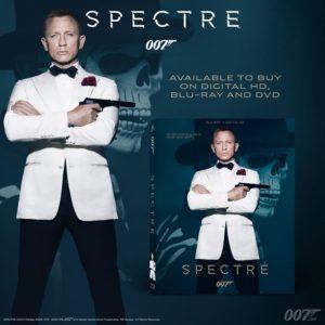SPECTRE DVD en Blu-ray aangekondigd