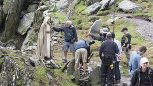 Daisy Ridley over Luke Skywalker in Star Wars: Episode VIII