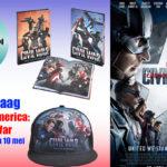 Prijsvraag Captain America: Civil War – Beëindigd
