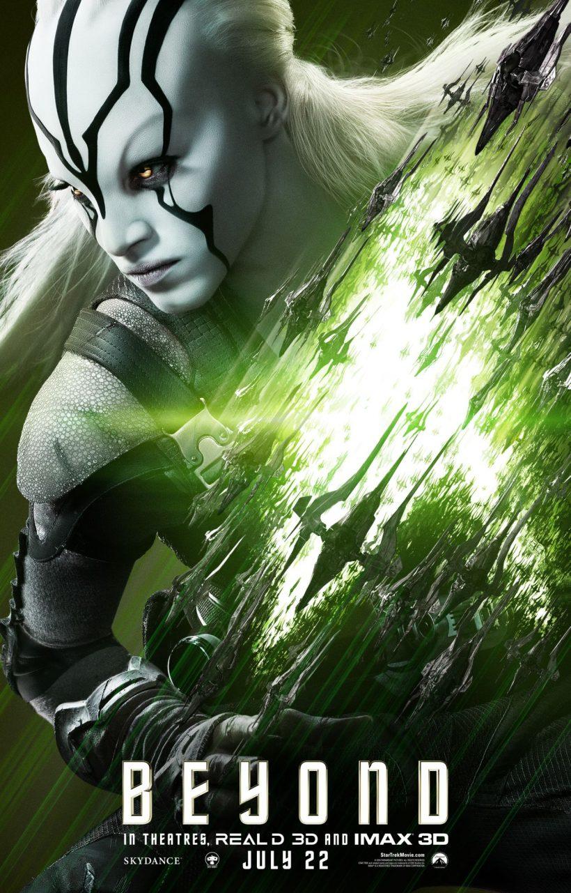 Eerste Star Trek Beyond personage posters