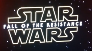 Star Wars 8 heet Fall of the Resistance?