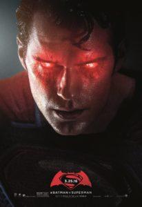 Ongebruikte Batman v Superman: Dawn of Justice posters