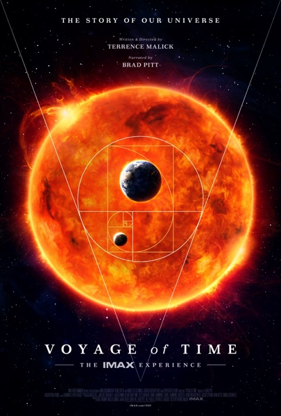 Eerste poster Terrence Malicks Voyage of Time