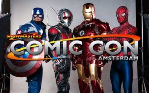Nieuwe activiteiten en acteurs Comic Con Amsterdam