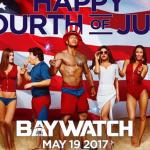 Patriottische poster voor Baywatch