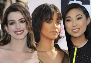 Anne Hathaway, Rihanna en Awkwafina in Ocean's 8