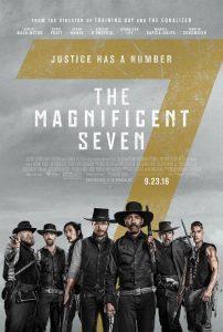 Nieuwe poster en personage vignettes The Magnificent Seven