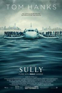 Poster Clint Eastwood's Sully met Tom Hanks