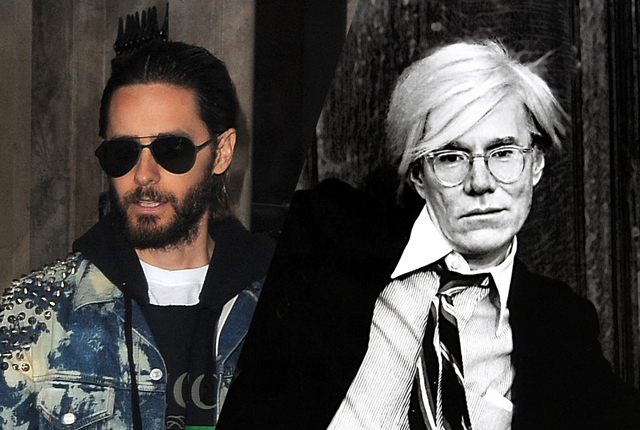 Jared Leto hoofdrol in Andy Warhol biopic