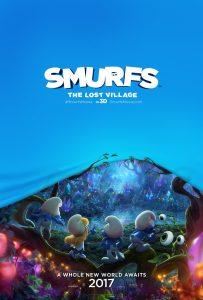 Smurfs: The Lost Village trailer en poster
