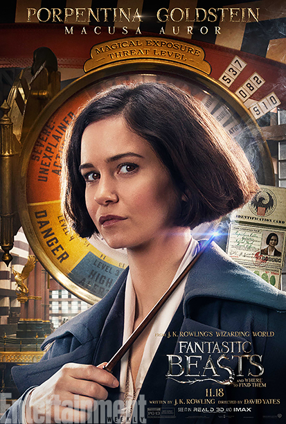 Personage posters Fantastic Beasts and Where to Find Them