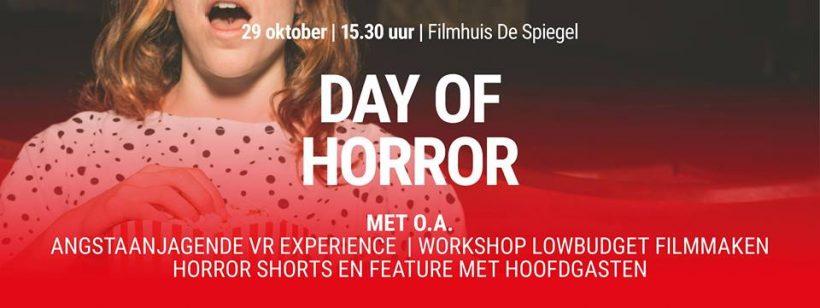 Virtual Reality en meer bij Day of Horror evenement