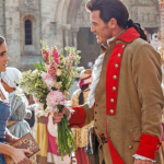Belle en Gaston op nieuwe foto Beauty and the Beast