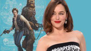 Emilia Clarke in Han Solo