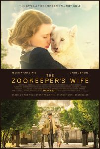 The Zookeeper's Wife trailer met Jessica Chastain