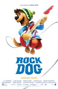 Nieuwe Rock Dog trailer en poster