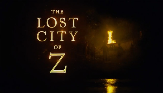 The Lost City of Z trailer met Charlie Hunnam & Robert Pattinson