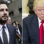 Shia LaBeouf protesteert 4 jaar lang tegen Trump