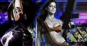 Michelle Rodriguez stiekem rol in Robert Rodriguez's Alita: Battle Angel