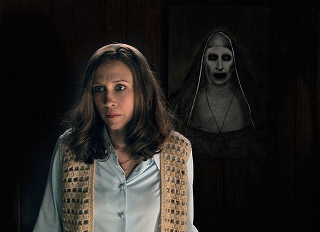 The Conjuring spin-off The Nun in 2018