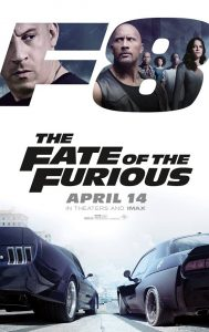 Nieuwe The Fate of the Furious poster