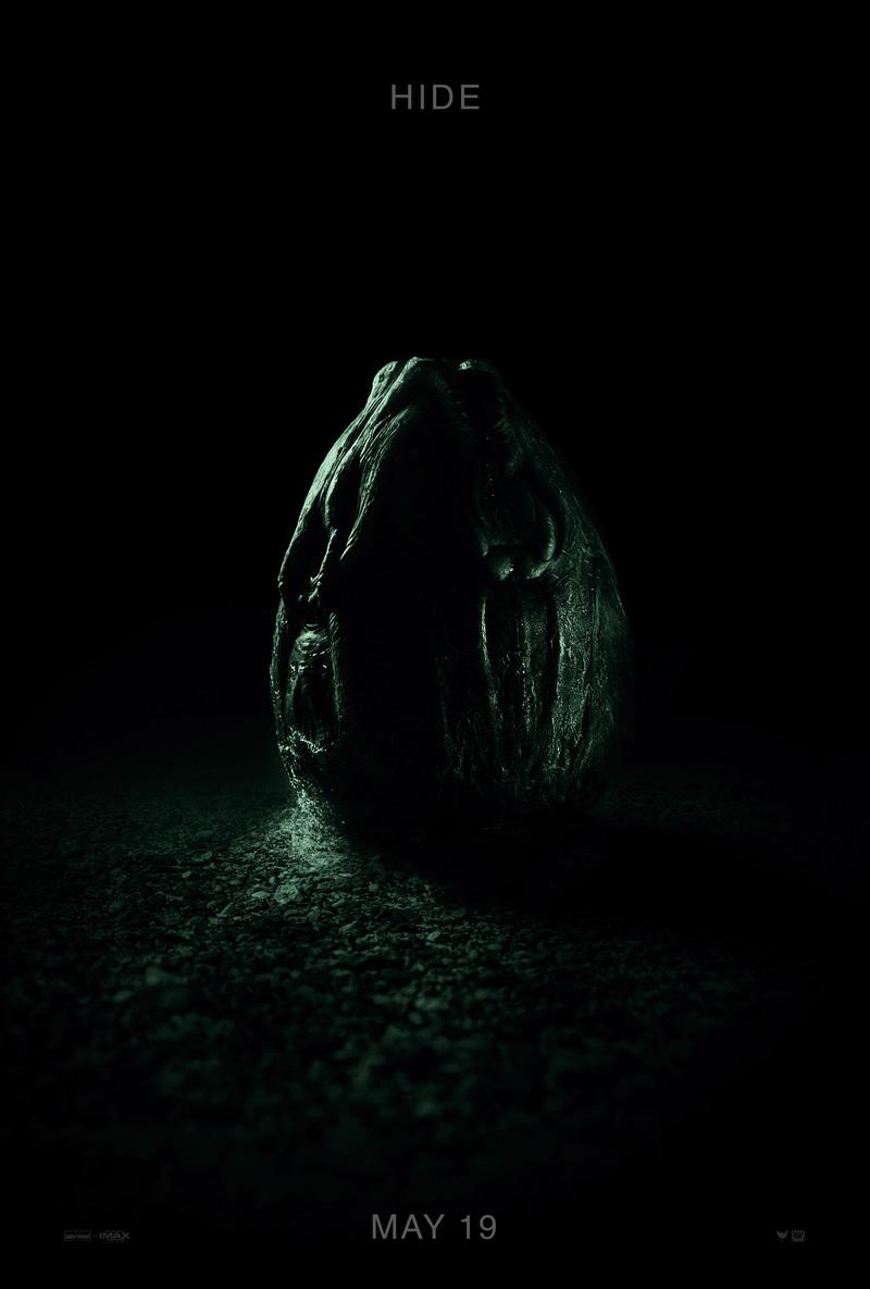 Nieuwe Alien: Covenant poster