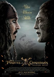 Internationale Pirates of the Caribbean: Dead Men Tell No Tales poster