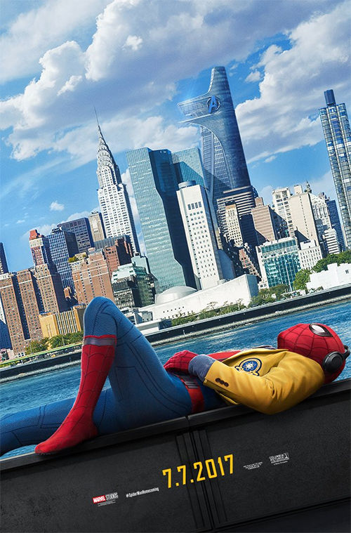 Poster Spider-Man: Homecoming toont New York
