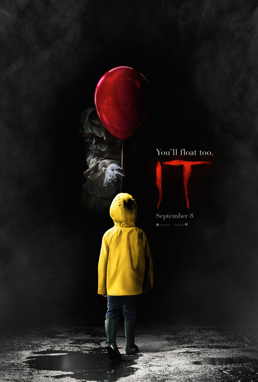 Poster en trailer tease voor Stephen King's IT