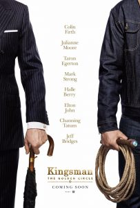 Nieuwe poster Kingsman: The Golden Circle