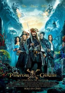 Nieuwe internationale Pirates of the Caribbean 5 poster
