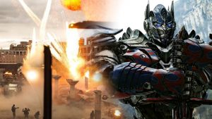 Michael Bay blaast alles op in 3D in Transformers: The Last Knight