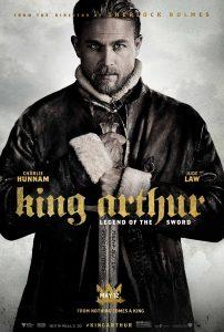 Nieuwe King Arthur: Legend of the Sword poster