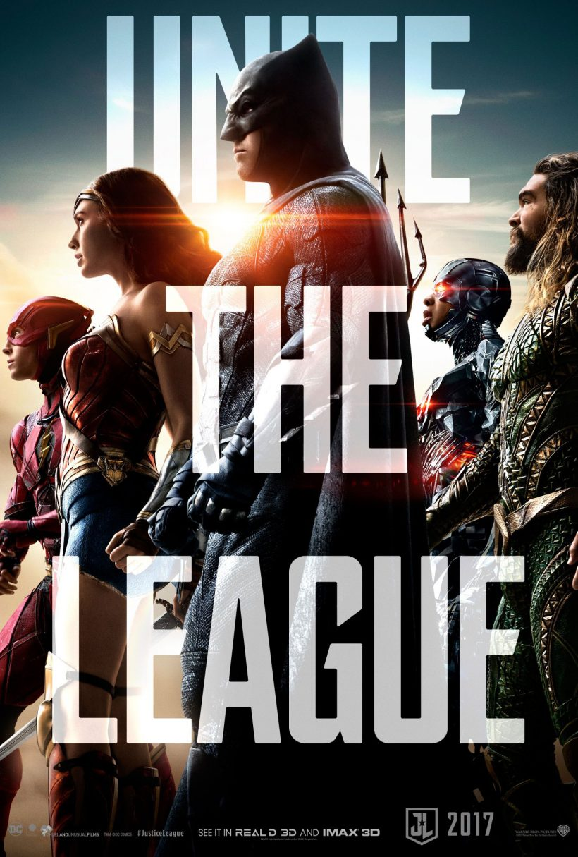 The League verzameld op nieuwe Justice League poster