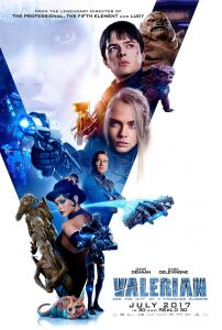 Nieuwe poster Valerian and the City of a Thousand Planets