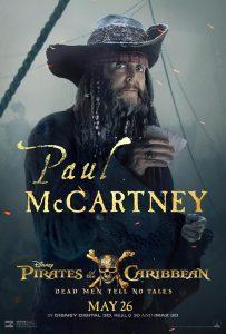 Paul McCartney krijgt een Pirates of the Caribbean personage poster