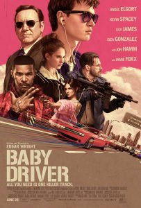 Nieuwe Edgar Wright's Baby Driver poster