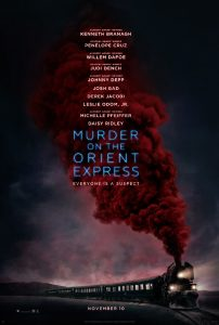 Eerste poster voor Murder on the Orient Express