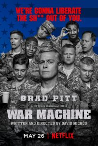 Brad Pitt in nieuwe War Machine trailer en poster