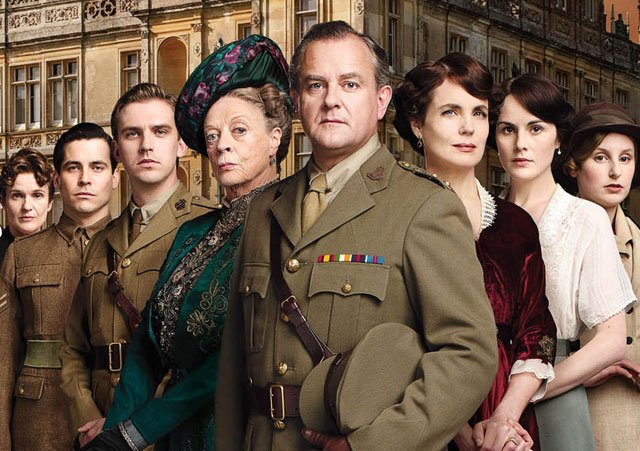Opnames Downton Abbey film begin 2018 van start