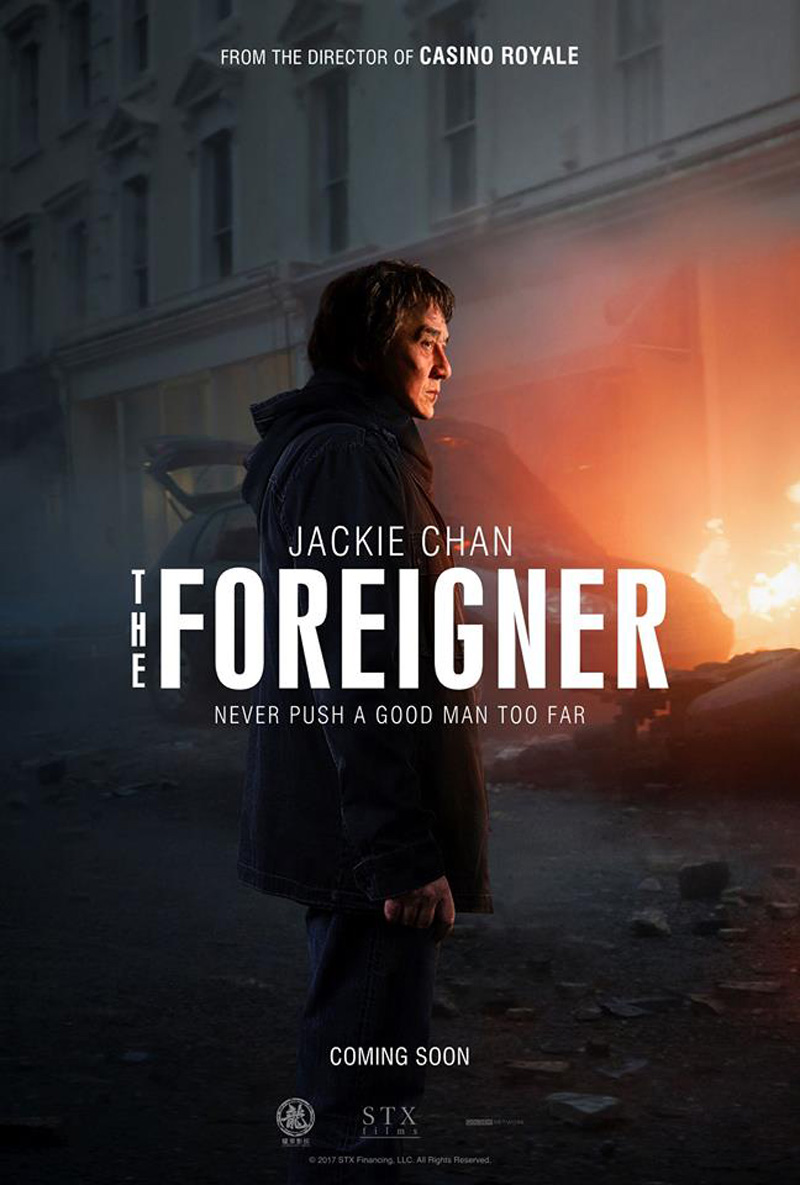 The Foreigner trailer en poster met Jackie Chan en Pierce Brosnan