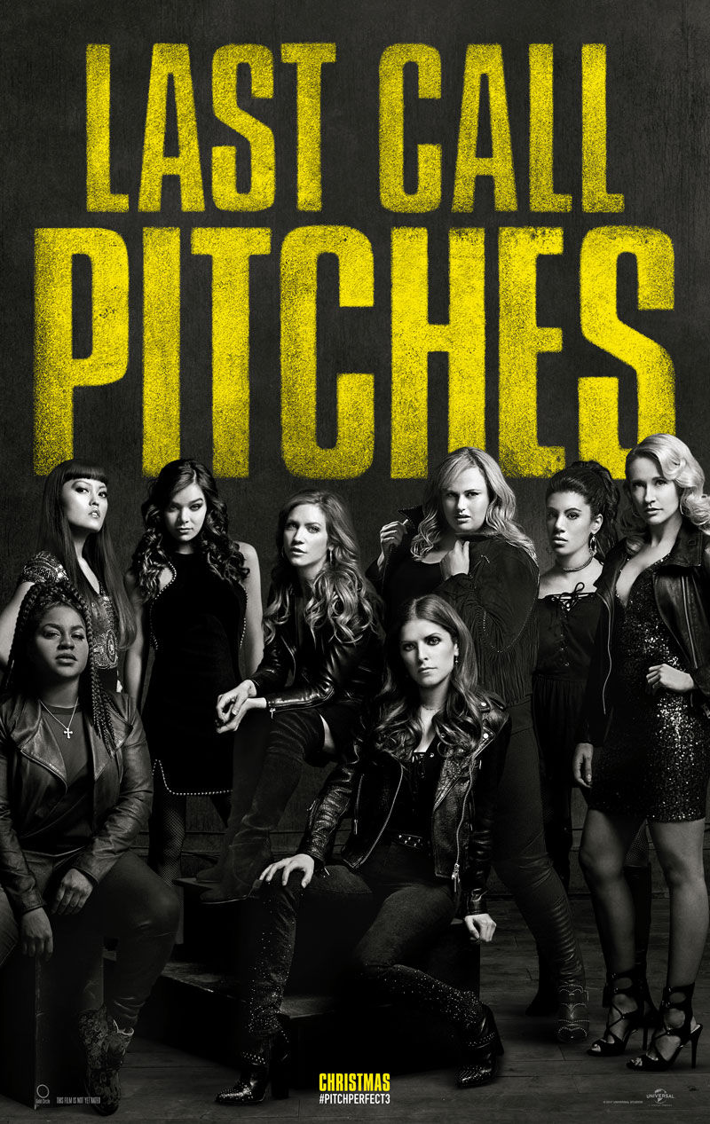 Last Call, Pitches! Eerste Pitch Perfect 3 poster