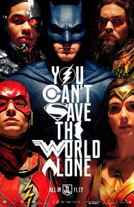 Nieuwe Justice League poster