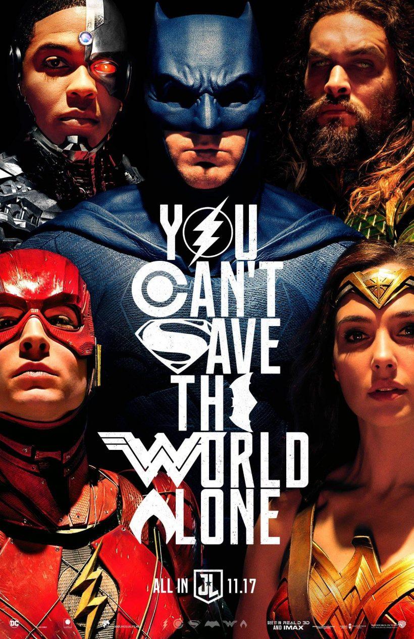 Nieuwe Justice League poster