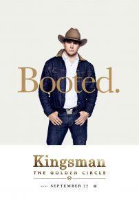Nieuwe Kingsman: The Golden Circle personage posters