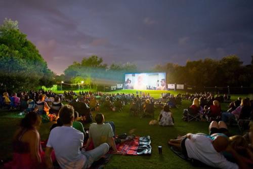 Cineville organiseert reizende openlucht bioscoop