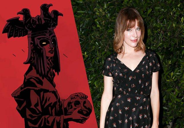 Milla Jovovich als Blood Queen in Hellboy reboot
