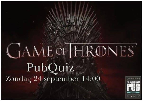 Game of Thrones Pubquiz in The Sacred Heart Pub